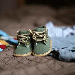První botičky pro miminka
