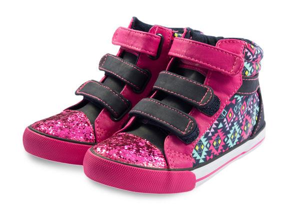 kotníkové holčičí boty na suchý zip