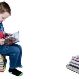 Fotografie chlapečka, který se učí