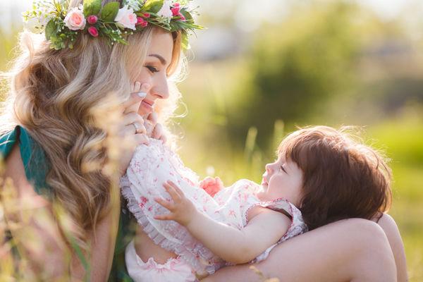 Fotografie maminky s dítětem
