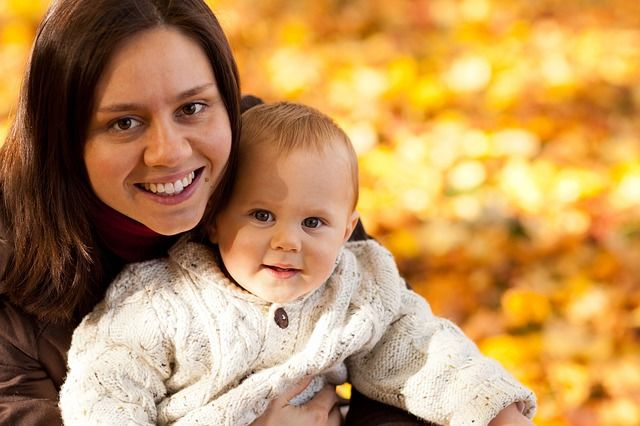 Fotografie maminky a dítěte jak rozmluvit dítě