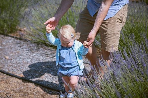 Fotografie:Naše první krůčky - učíme se chodit