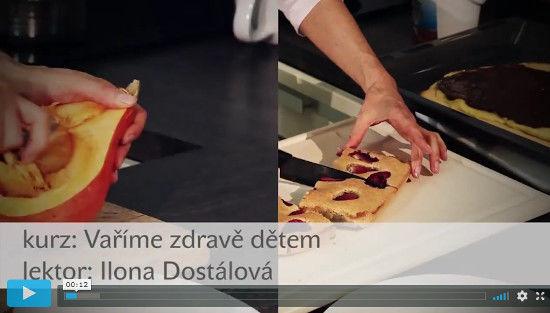 náhled videa se zdravými recepty a vařením pro děti